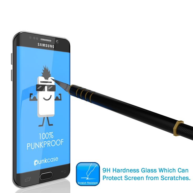 Galaxy Note 7 Black Screen Protector, Punkcase Glass SHIELD Samsung Galaxy Note 7 Tempered Glass Screen Protector 0.33mm Thick 9H Glass Screen Protector  Punkcase Glass SHIELD is build with the highest quality tempered glass to obtain the best HD clear visibility. Punkcase Glass SHIELD covers the whole screen unlike other screen protectors from competitors. It also has 3D rounded edges, 0.33mm thick and has 9H hardness for superior protection. Punkcase designed the Glass SHIELD with an…