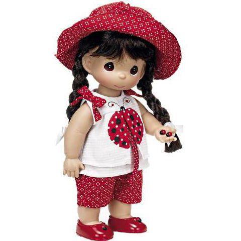 """Кукла """"Горошинка"""" брюнетка 30 см, Precious Moments (Драгоценные Моменты) - Игрушки купить со скидкой."""