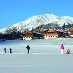 Skifahren auf dem Bauernhof südtirol