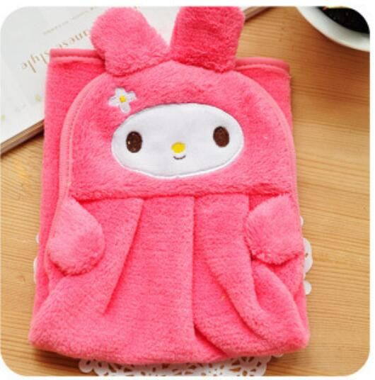 Baby Nursery Hand Towel baby bath towels Toddler Soft Plush Cartoon Animal Wipe Hanging Bathing Towel For Children Bathroom