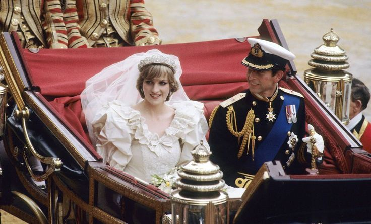 Princess Diana, what a beautiful Royal wedding you had & you held your fears & anxieties in so well, bless you.  I know you hoped Charles' affair w/Camilla was OVER, but you really knew better.  So sorry they both broke your heart so many times!!  But you have two magnificent sons, don't you?