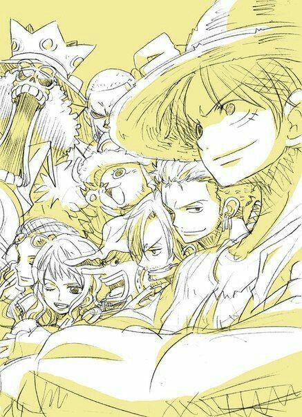 Straw Hat Crew, Mugiwara, Luffy, Sanji, Zoro, Chopper, Usopp, Brook, Franky, Nami, Robin; One Piece