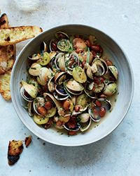This supereasy take on steamed clams has just two steps. Learn to make it at Food & Wine.