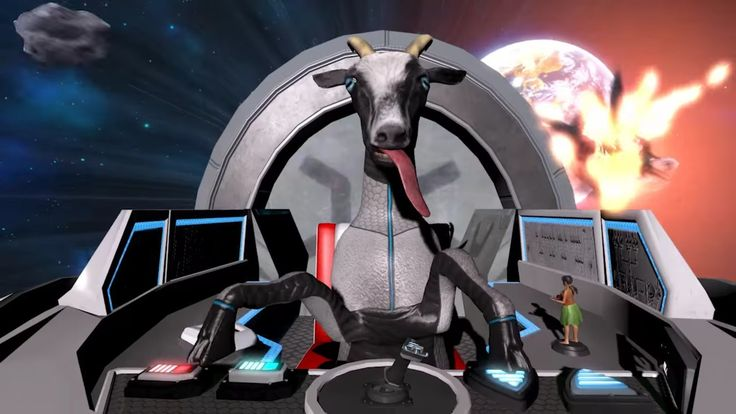 GOAT SIMULATOR Takes To The Stars In Awesome Trailer For WASTE OF SPACE DLC — GameTyrant