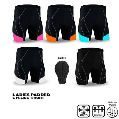 Ladies #cycling short anti-bac #padded mtb #bicycle pant all sizes rebz new,  View more on the LINK: 	http://www.zeppy.io/product/gb/2/321790038303/