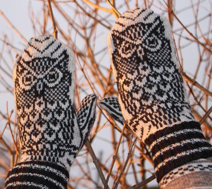 356 best Fingerless gloves, mittens images on Pinterest | Knitting ...
