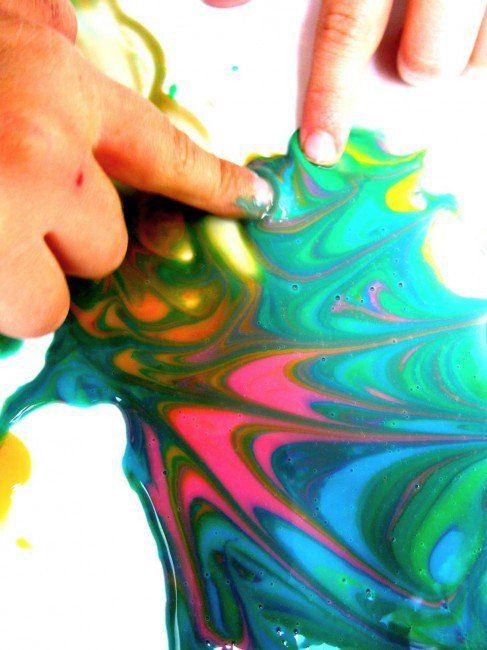 Pintura comestible como juego sensorial: 1 a 3 años   Blog de BabyCenter