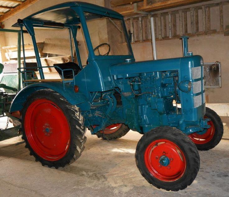 Hanomag R 16 - Traktor Trekker - voll restauriert, neu lackiert in Business & Industrie, Agrar, Forst & Kommune, Landtechnik & Traktoren | eBay