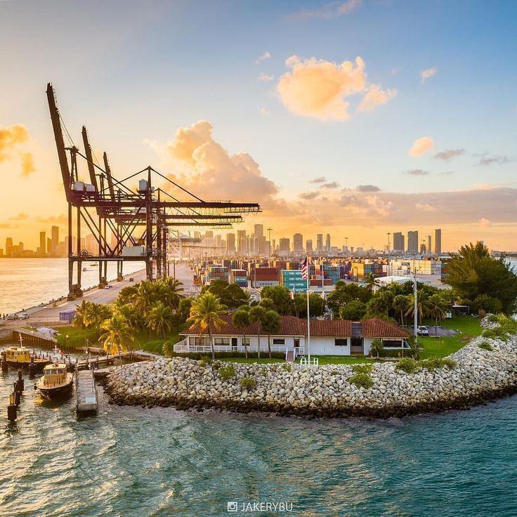 Miami Port: 378 Best Miami, Florida Images On Pinterest