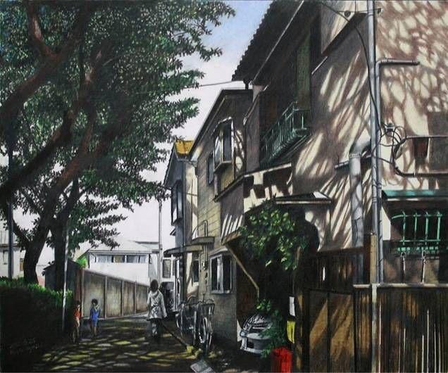 Vẻ đẹp bình dị của Tokyo qua tranh | Khám phá Nhật Bản cùng ...