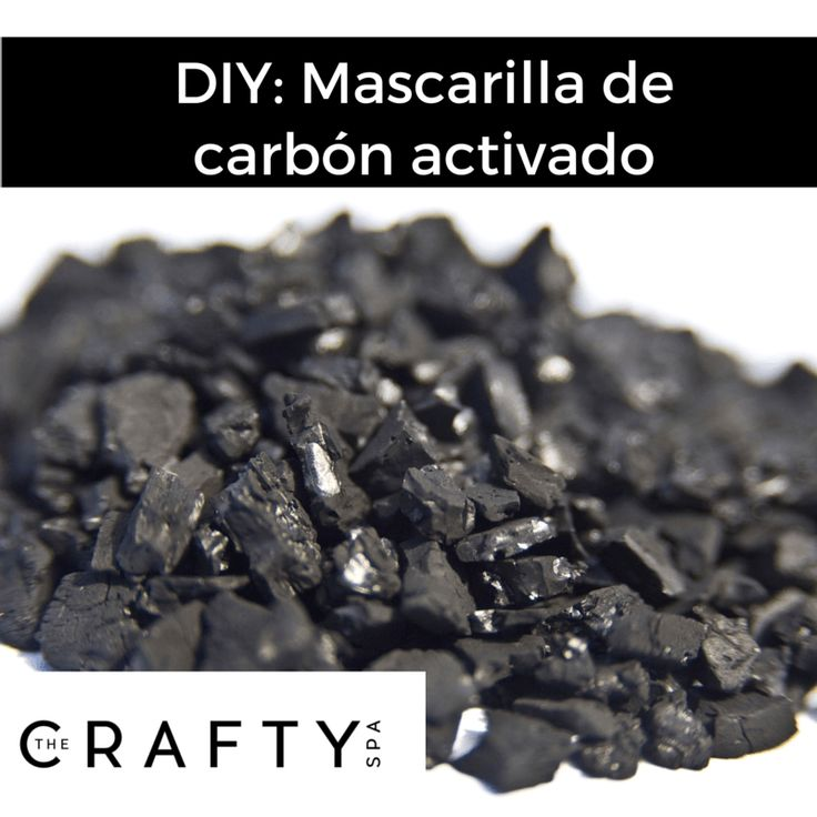 Mascarilla de carbón activado