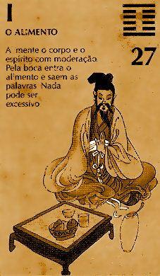 """El hexagrama 27 es llamado 頤 (I), """"Las Comisuras de la Boca""""."""