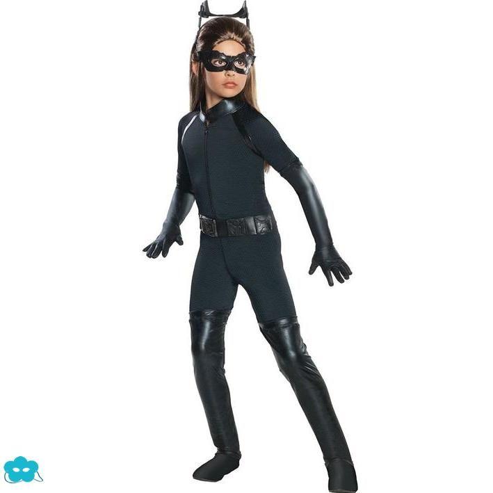 Disfraz de Catwoman luxury para niña