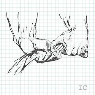 Ilustración arte manos anatomia