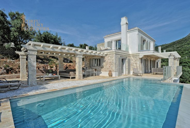 Stunning luxury sea view villa for sale in Barbati, North East Corfu  From: http://corfuluxuryproperties.com/property/stunning-luxury-sea-view-villa-for-sale-in-barbati-north-east-corfu/