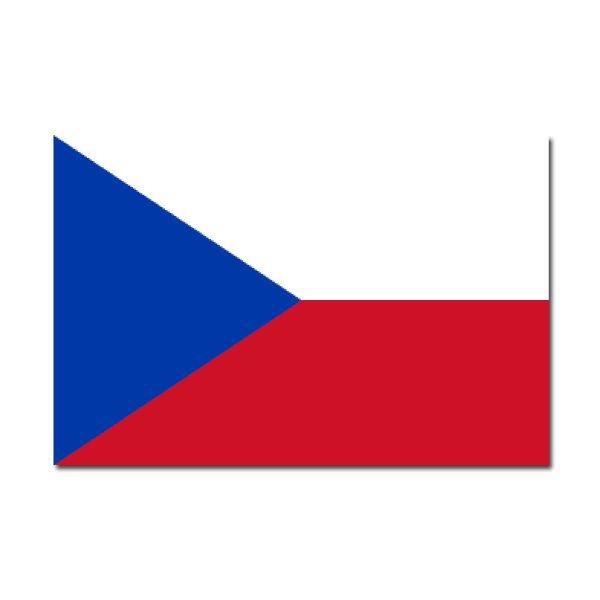 Pegatinas: bandera Ceská Republica (República Checa) #bandera #pegatina #TeleAdhesivo