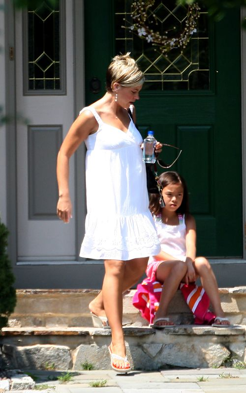 kate gosselin in WHITE