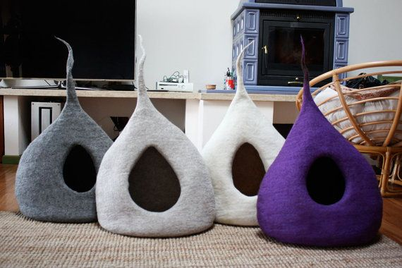 Hey, I found this really awesome Etsy listing at https://www.etsy.com/listing/217927528/cat-cave-drop-cat-bed-cat-house-pet