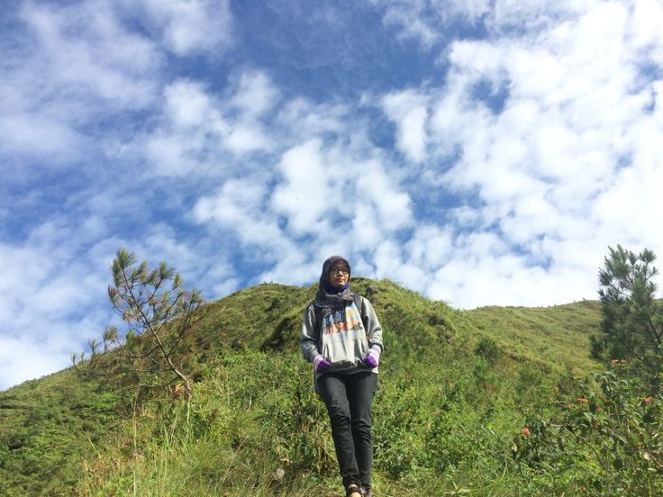 My first summit attack in Andong Mountain.