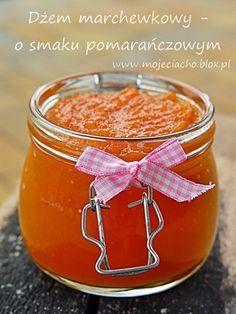 Dżem marchewkowy - o smaku pomarańczowym