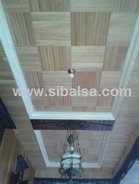 sibalsa roofing kayu plafon ringan anti gempa