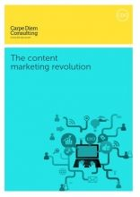 The content marketing revolution   Business to business sales – work with us and see real improvements
