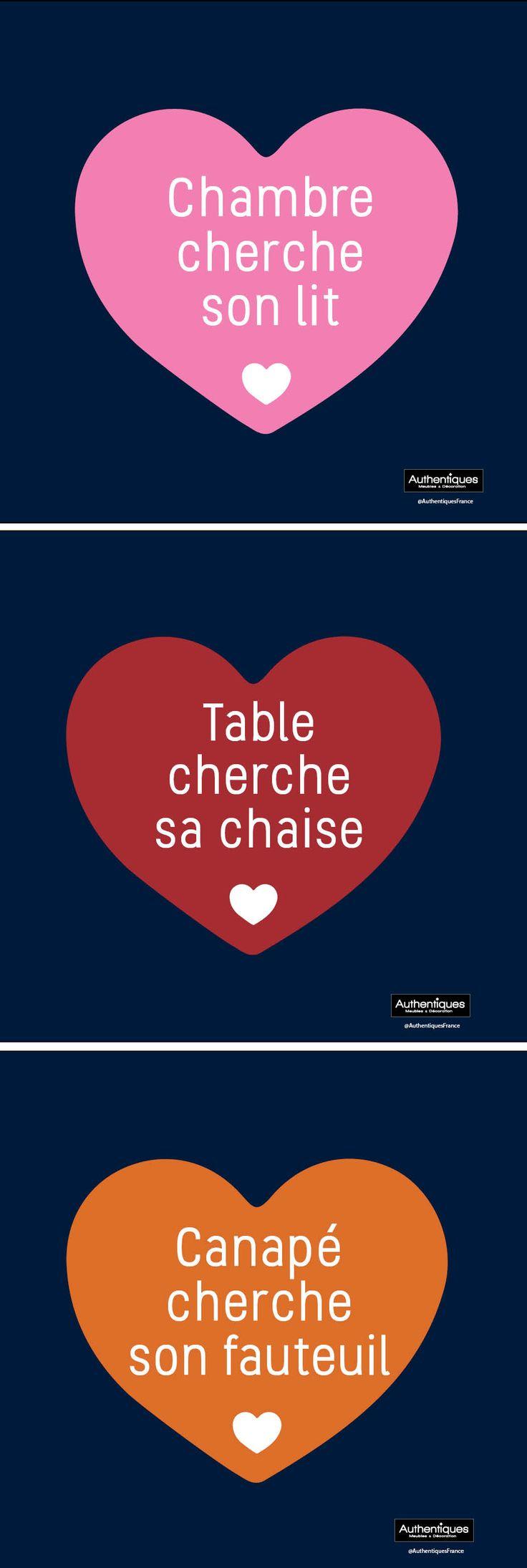 Pour la saint Valentin moment idéal pour se faire plaisir et faire plaisir on offre LE meuble rªvé ou simplement avec une belle carte et un