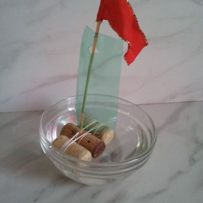 Make a Plastic Sailing Boat