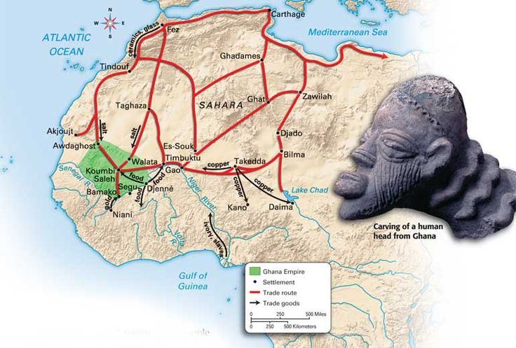 14Ancient Africa - maps and good info about those areas