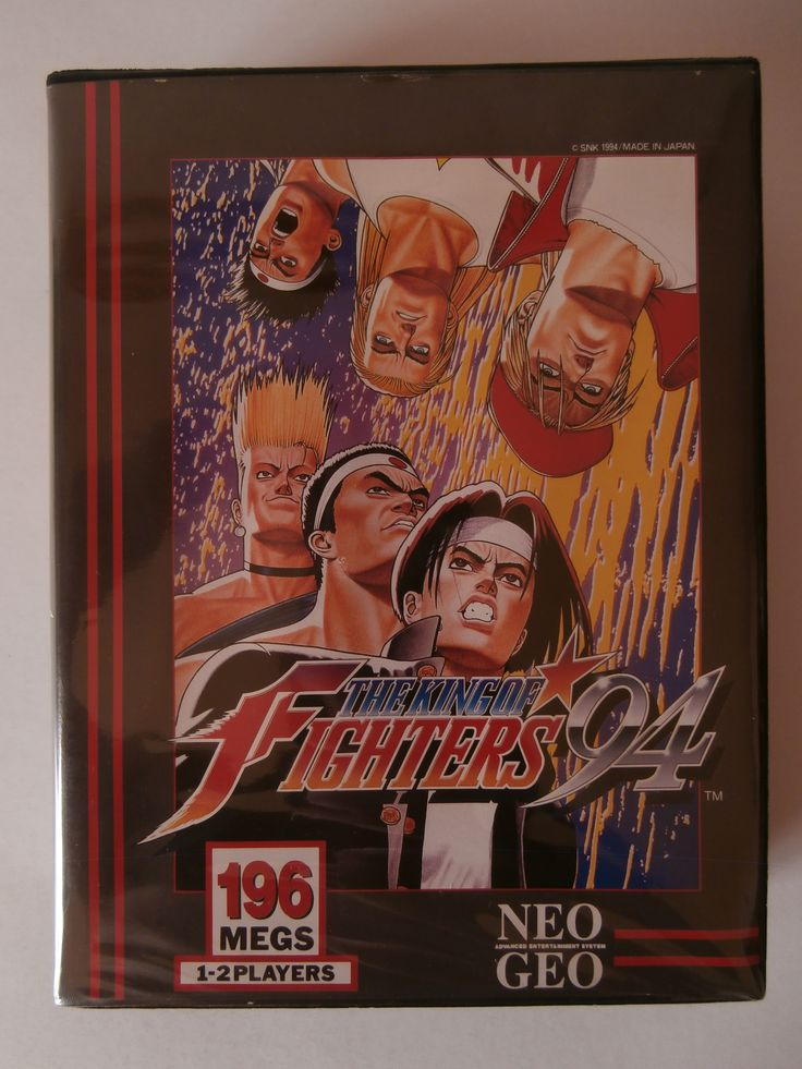 """The King of Fighters '94 (or just KOF '94) was the first game of the The King of Fighters series, and was released in August, 25, 1994 for the SNK Neo Geo systems (AES, MVS and CD). In 2004, SNK Playmore released a remake of KOF '94, called KOF '94: Rebout on the Playstation 2, but the game wasn't released outside of Japan. In 2008, The game was included as part of SNK Arcade Classics Vol. 1. The game was released for PlayStation 4 as part of the line """"ACA Neo Geo"""" developed by Hamster Corp."""