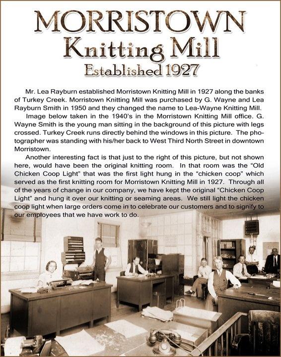 Marvelous Knitting Mill, My Sister Worked Here. Morristown TennesseePsalmsMy ...