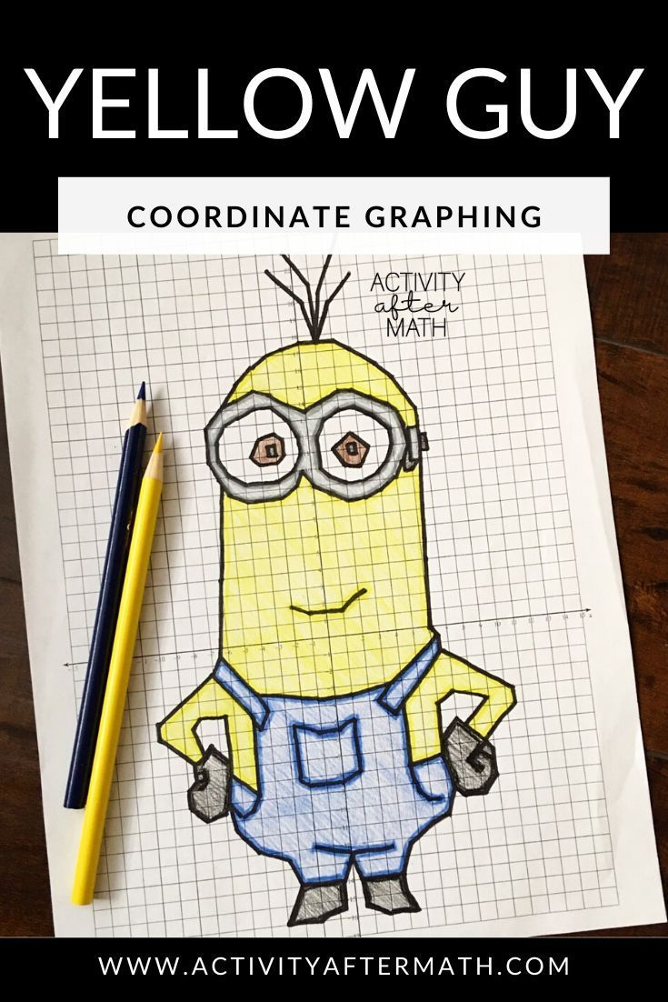 Yellow Guy Coordinate Graphing Picture In 2020 Coordinate Graphing Coordinate Graphing Pictures Coordinate Graphing Activities