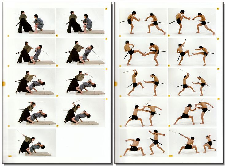 How to Draw - Real Action Pose Collection Vol. 2 - Sword Fighting - Anime Books