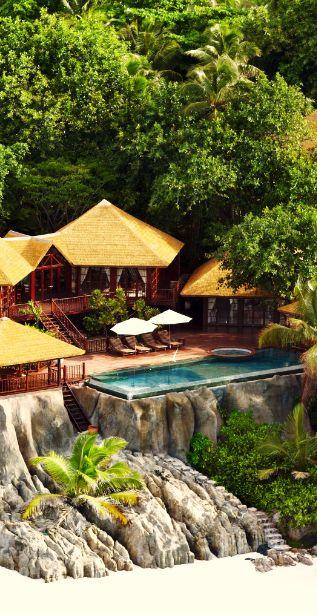 -Frégate Island Private Hotel in Frégate, Seychelles..