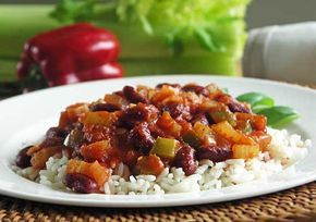 Red Beans and Rice (rote Bohnen und Reis)