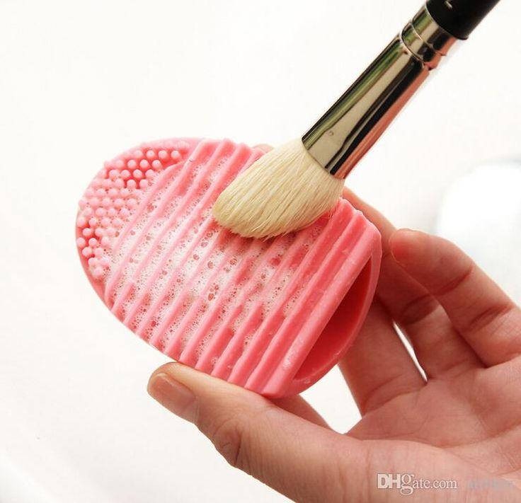 Brushegg Silikon Bürsten Reinigungs Bürsten Reinigungs Ei Ei Cosmetic Crush Cleanser Mack Up Make Up Pinsel