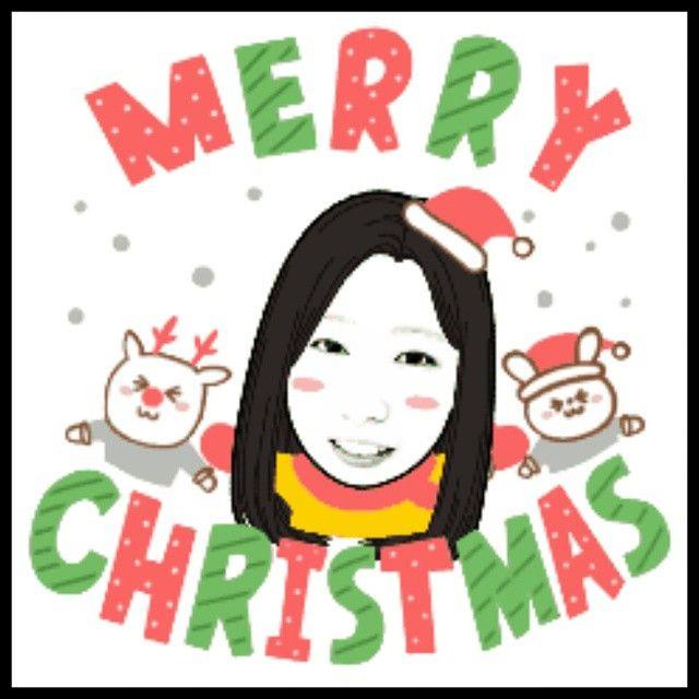 hn_nui #merrychristmas#메리크리스마스#페이스콘