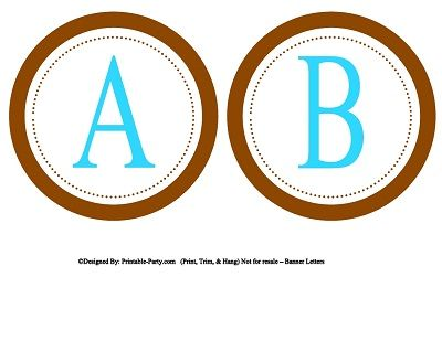Printable Lettering For Banners Small Circle Printable