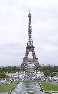 Buy Eiffel tower tickets online BEFORE you go to Paris....  it often sells out.