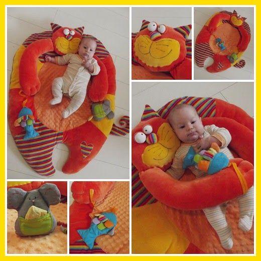 anya napjai: Vörös Cicus, akit nyugodtan a gyerek közelébe engedhetsz I sew this playmat for my daughter  playmat sew diy