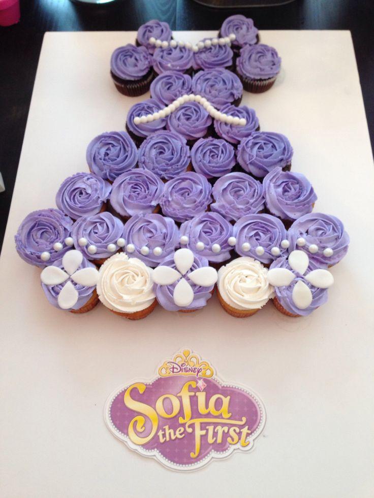 Sophia the first cupcake dress