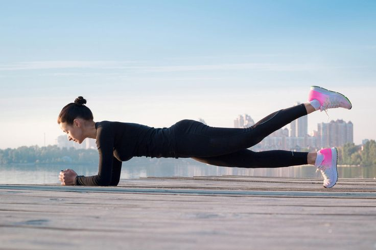 With fun twists on classic Pilates moves, your entire core will feel sore AF tomorrow morning.