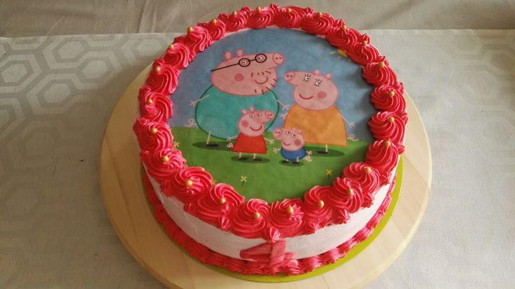 Tort ze świnką Peppa