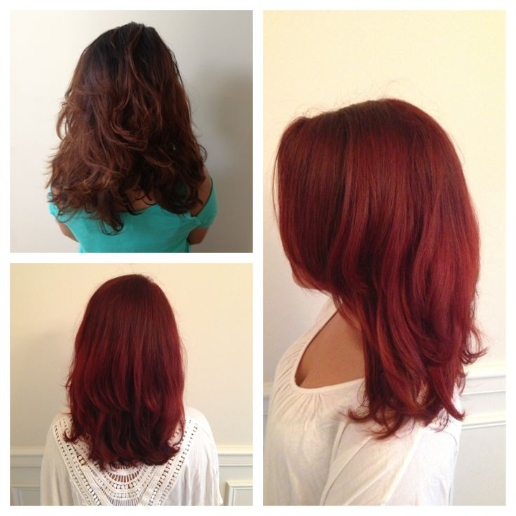 matrix hair color i used a 6rr with 20 volume and let process for 35 minutes - Matrix Hair Color Reviews