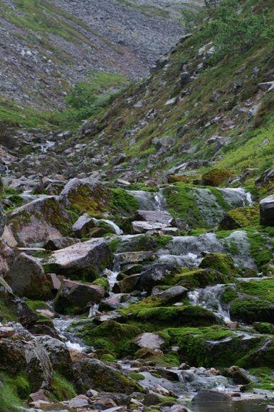 A brook on Ylläs Fell, Äkäslompolo