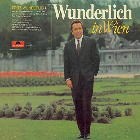 """""""Fritz Wunderlich in Wien"""" (Fritz Wunderlich) 1966."""