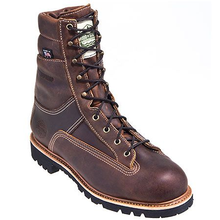 Wood n' Stream Men's Navigator Brown 7005 USA Made Insulated Work Boot
