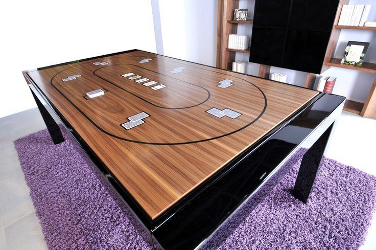 Table de billard et de poker- BL-180 METAL - Poker-table de billard Pool