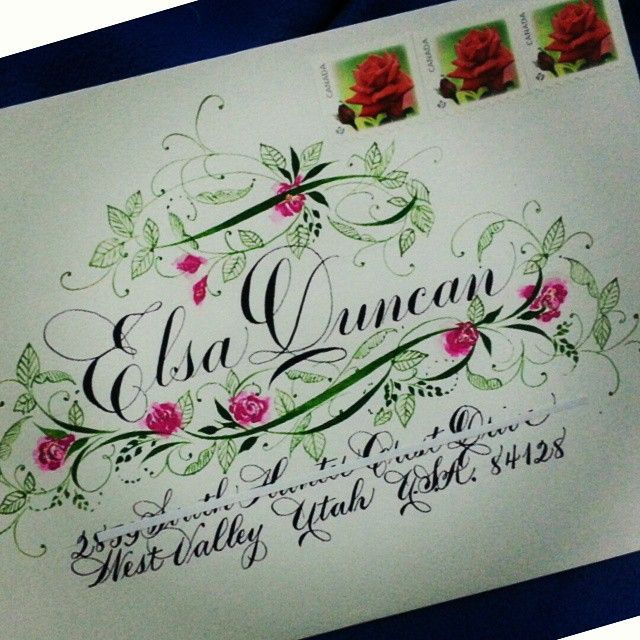 516 best Mail Art images on Pinterest Envelopes, Happy mail and - new letter envelope address format canada