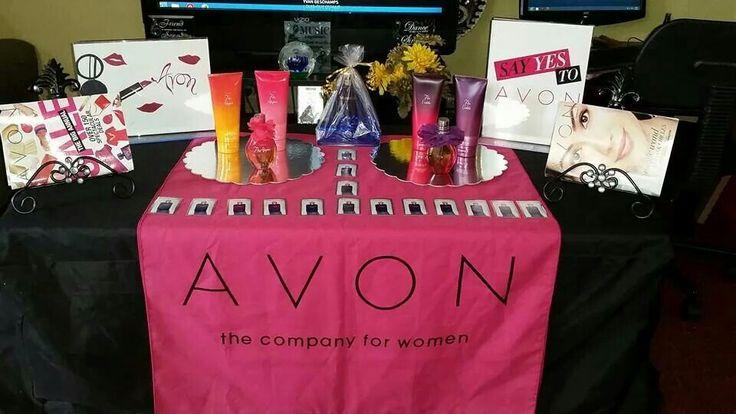 Festival Of Fragrances Table Set Up Avon Pinterest